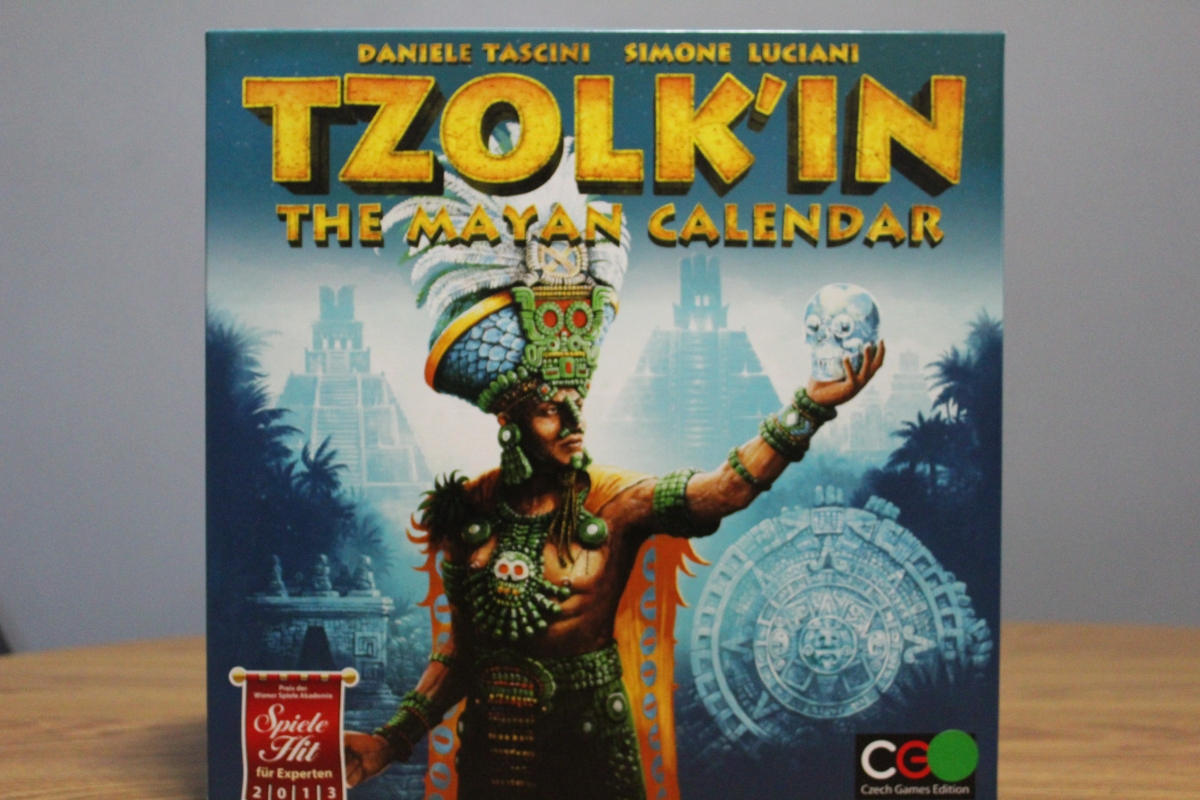 Board Game Review — Tzolk'in: The Mayan Calendar – Two Board Meeples image