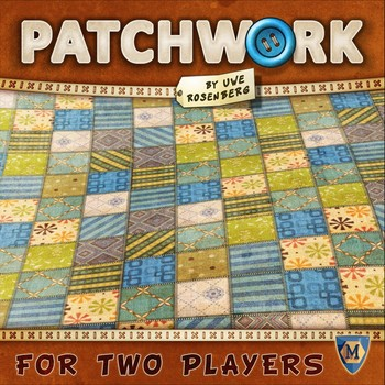 Board Game Review – Patchwork – Two Board Meeples image