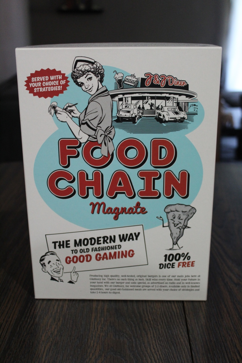 Board Game Review – Food Chain Magnate – Two Board Meeples image