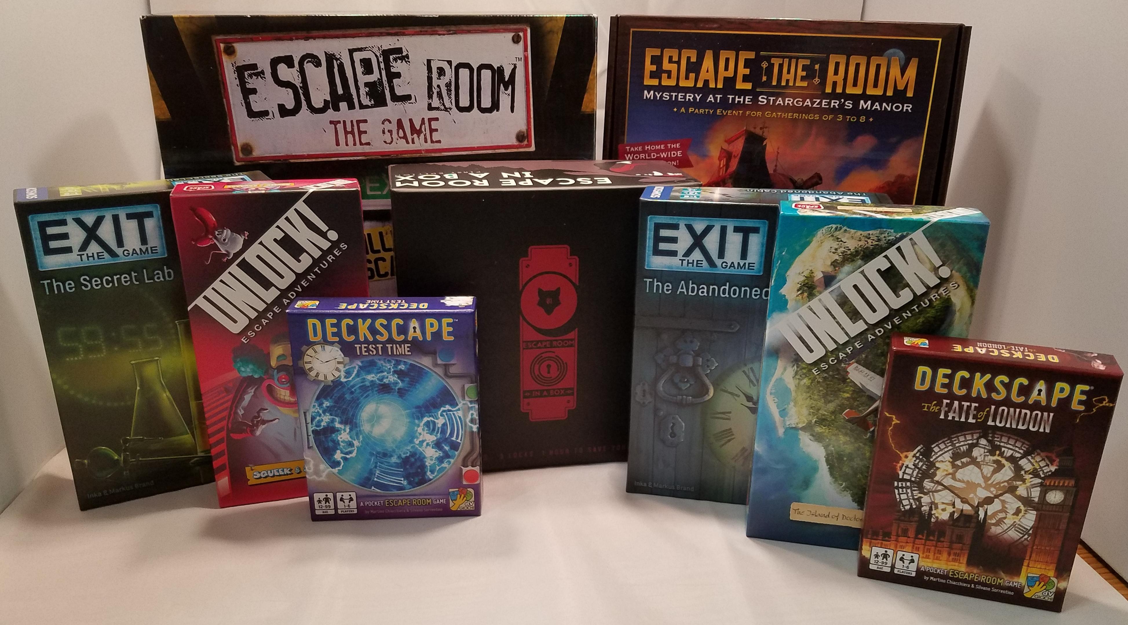 Escape Room: The Game – The Dentist - LiQD BoardGames